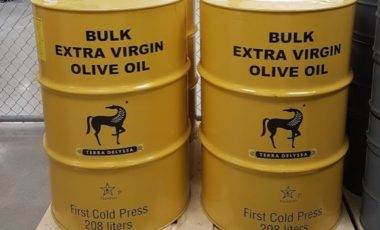 Costco Terra Delyssa Bulk Extra Virgin Olive Oil Drums